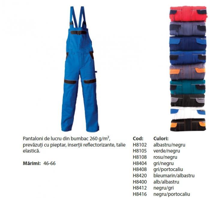 Pantalon cu pieptar Cool Trend 0